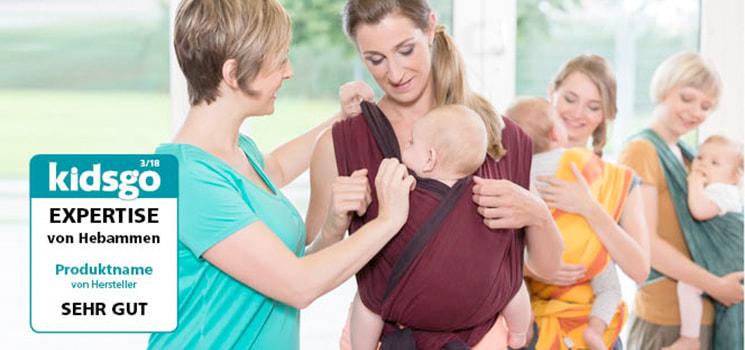 b3e6d8b19b Expertise für Babyartikel: Das kidsgo Experten-Siegel