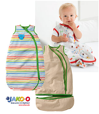 jako o baby schlafsack im test ergebnis lesen kidsgo. Black Bedroom Furniture Sets. Home Design Ideas